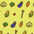 野菜がいっぱいの背景
