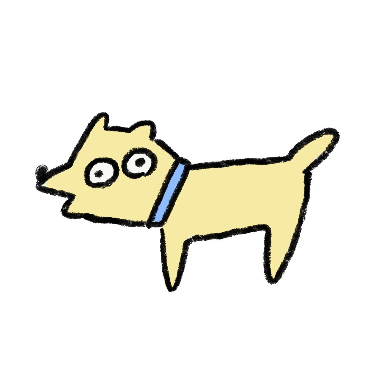 アホそうな犬
