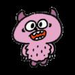 ピンク色の毛皮モンスター