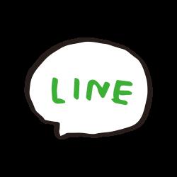 LINE風アイコンのイラスト