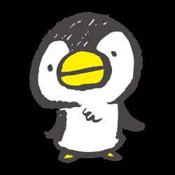 おどるペンギン(GIFアニメ)のイラスト